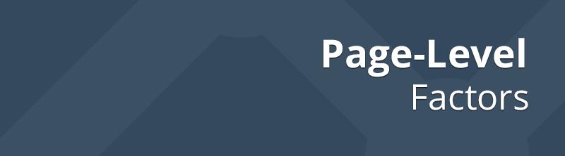 Page-Level Factors